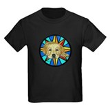 Molly w/stained glass design T