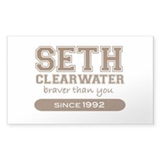 Seth Clearwater, Braver Than Rectangle Decal