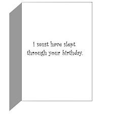 Belated Birthday Sheltie Greeting Card