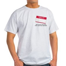 T-Shirt - Hello My Name Is...
