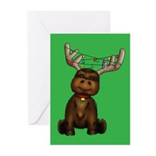 """Chris-Moose"" Greeting Cards (20)"