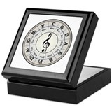 &amp;quot;Pearl&amp;quot; Circle of Fifths Keepsake Box
