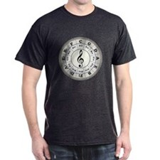 """Pearl"" Circle of Fifths T-Shirt"
