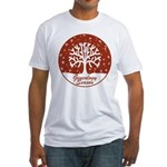 Genealogy Season Fitted T-Shirt
