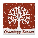 Genealogy Season Tile Coaster
