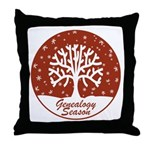 Genealogy Season Throw Pillow