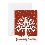 Genealogy Season Greeting Cards (Pk of 10)