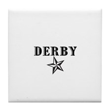 Derby (star) Tile Coaster