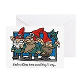 Santa's Elves Greeting Cards (Pk of 10)