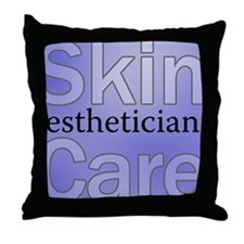 Skin Care Throw Pillow