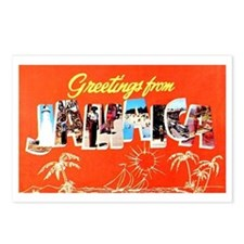 Jamaica Greetings Postcards (Package of 8)