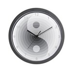 Zen Gray Wall Clock