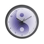 Zen Purple Wall Clock