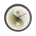 Zen Tan Sand Wall Clock