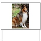 Honeytree Collies in Texas Yard Sign
