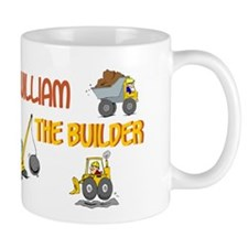William the Builder Mug