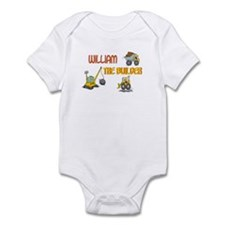 William the Builder Infant Bodysuit