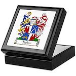 Teplov Family Crest Keepsake Box