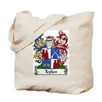 Teplov Family Crest Tote Bag