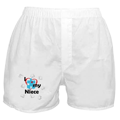 I Love My Niece - Autism Boxer Shorts