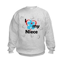 I Love My Niece - Autism Sweatshirt