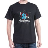 I Love My Nephew - Autism T-Shirt