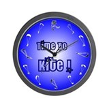 Kiteboarding Kitesurfing Wall Clock