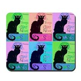 Chat Noir Mousepad