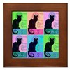 Chat Noir Framed Tile