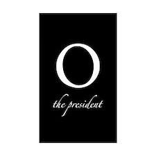 O | the president Rectangle Sticker 10 pk)