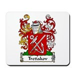 Tretiakov Family Crest Mousepad
