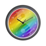 Zen color wheel clock Wall Clock