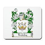 Trotsky Family Crest Mousepad