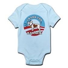 #1 dog Infant Bodysuit