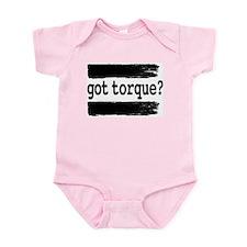 got torque? Infant Creeper