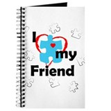 I Love My Friend - Autism Journal