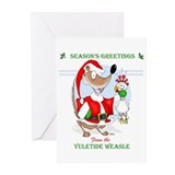 The Yuletide Weasle Greeting Cards (Pk of 20)
