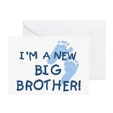 New Big Brother Greeting Cards (Pk of 10)