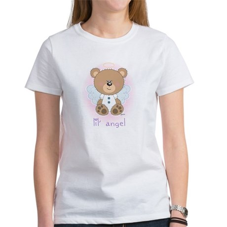 lil' brown bear angel Women's T-Shirt