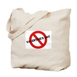 Anti Valentine's Day Tote Bag