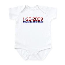 1-20-2009 Obama Dream Infant Bodysuit