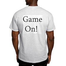 Game On! Ash Grey T-Shirt