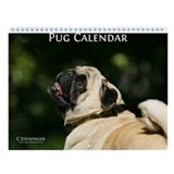 Pug Wall Calendar