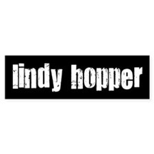 Lindy Hopper Bumper Car Sticker