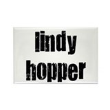 Lindy Hopper Rectangle Magnet (10 pack)