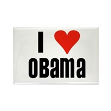 I Heart Obama Rectangle Magnet