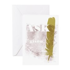 Ask & Given Greeting Cards (Pk of 10)