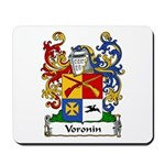 Voronin Family Crest Mousepad 