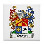 Voronin Family Crest Tile Coaster