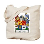 Voronin Family Crest Tote Bag